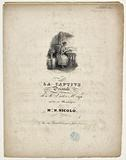 La Captive, Orientale by Mr Victor Hugo set to music by Melle N Nicolo