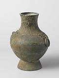 Ritual flask and wine vessel
