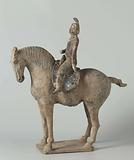 Tomb figures of horses and camels
