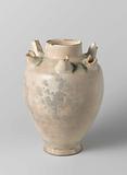 Ovoid vase with six tubes