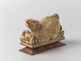 Ivory box in the form of a winged lion