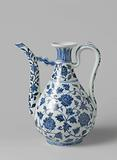 Ewer with long curving spout