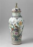 Two Lidded Vases