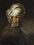 Man in Oriental Clothing