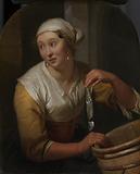 Woman Selling Herrings