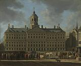 The Town Hall on Dam Square, Amsterdam