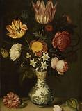 Still Life with Flowers in a Wan-li Vase