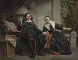 Abraham Casteleyn and his Wife, Margarieta van Bancken