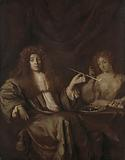 Portrait of Hadriaan Beverland with a Prostitute