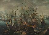 Battle of Gibraltar in 1607