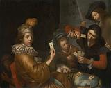 The Card Game on the Cradle: Allegory