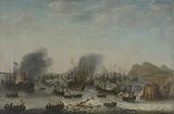 Naval battle near Gibraltar, 25 April 1607