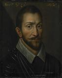 """""""Portrait of François de la Noue, Seigneur de Téligny, surnamed """"""""Bras de Fer"""""""" and """"""""le Bayard Huguenot"""""""" """""""