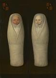 Portrait of Swaddled Twins: The Early-Deceased Children of Jacob de Graeff and Aeltge Boelens