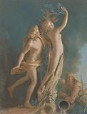 Apollo and Daphne, after Lorenzo Bernini's Marble Group in the Galleria Borghese, Rome