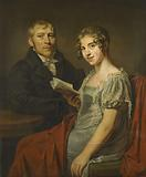 Hendrik Arend van den Brink and his Wife Lucretia Johanna van de Poll