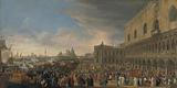 The Entry of the French Ambassador into Venice in 1706