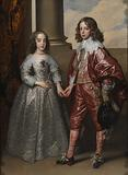 William II, Prince of Orange, and his Bride, Mary Stuart