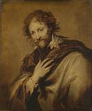 Portrait of a Man, Identified as Peter Paul Rubens, Painter and Diplomat