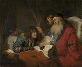 Isaac Blessing Jacob