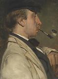 Portrait of Ludwig Casimir ('Louis') Sierig, Painter