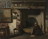 The Studio of the Haarlem Painter Pieter Frederik van Os