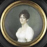 Portrait of Maria Cornelia Pull. Wife of Gerrit Jan van Houten.