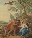Jupiter, Disguised as a Shepherd, Seducing Mnemosyne, the Goddess of Memory