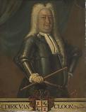 Portrait of Dirk van Cloon, Governor-General of the Dutch East Indies
