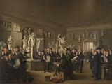 The Sculpture Gallery of the Felix Meritis Society