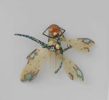 Comb in the form of two dragonflies