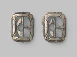 Pair of belt buckles