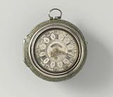 Pocket watch with a passionate depiction of a whaler