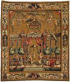 Big carpet with the sacrifice for Priapus