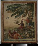 Les pêcheurs (The Fishermen), Tapestry from Les Anciennes Indes Series