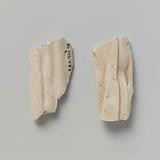 Figurine, Two Fragments of the Garment