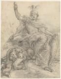 Minerva as Rome