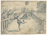 Match between Atalante and Hippomenes