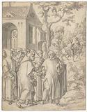 Saint Bruno leaves for Rome