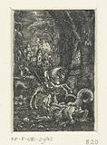 Saint George slays the dragon