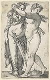 Judith with head of Holofernes and maidservant