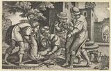 Tobit and Tobias bury a body