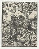 Saint George (Georgius) kills the dragon