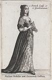 Mulier Nobilis aut Generosa Gallica / a French Lady or Gentlewoman
