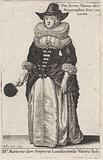 Dni Maioris sive Pretoris Londinensis Vxoris hab: / Lord Mayor's or Mayor's Fraw of London