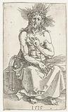 Christ as a Man of Sorrows, seated
