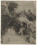 Saint Jerome Reading in an Italianate Landscape