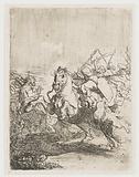 A Cavalry Fight