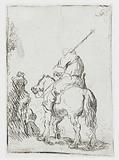 Turbaned Soldier on Horseback