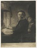 Portrait of Lieven Willemsz van Coppenol, known as 'The Smaller Plate'